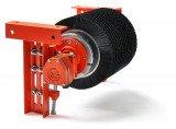 Барабанный двигатель Van der Graaf для чистки ленточных конвейеров
